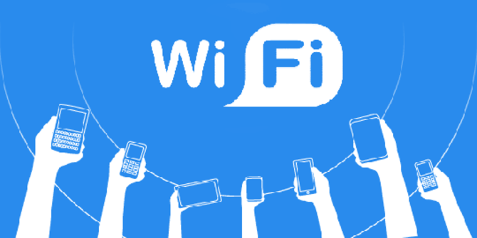 Gunakan Wi-Fi.