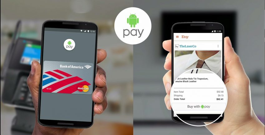 Sudah Support Android Pay