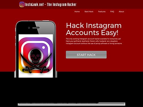 Aplikasi Free Instagram Hacker App – Instaleak