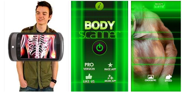 Body Scanner Prank