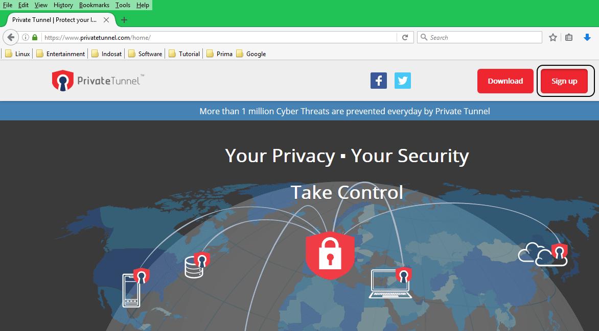Cara Menggunakan Private Tunnel di Android untuk Internet Gratis