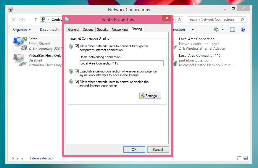 Cara Mudah Membuat Wifi Hotspot Di PC Atau Laptop Windows