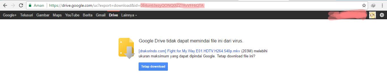 Cara Mudah Mengatasi Tak Dapat Download di Google Drive