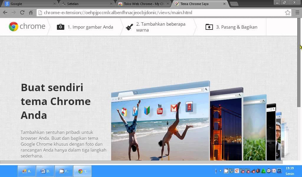 Cara Mudah Mengganti Tema Google Chrome