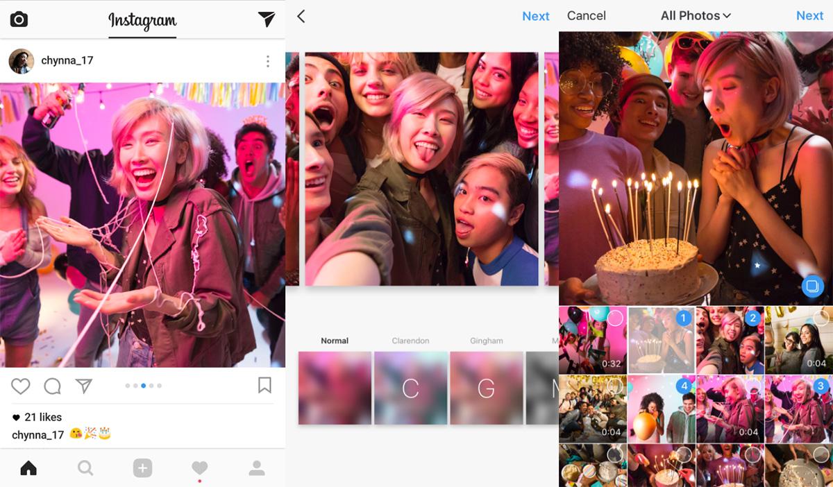 Kini Pengguna Instagram Bisa Upload Album Dalam Mode Landscape Dan Potrait