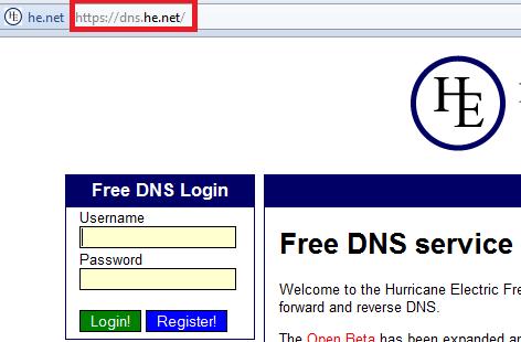 Memanfaatkan Layanan DNS