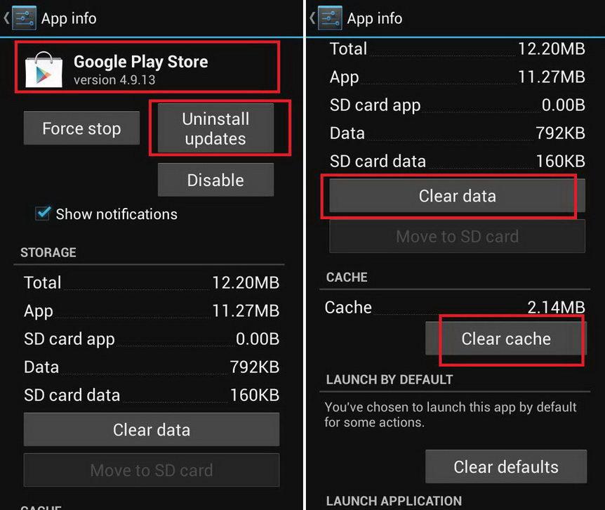 Bersihkan Cache dan Data dari Aplikasi Play Store