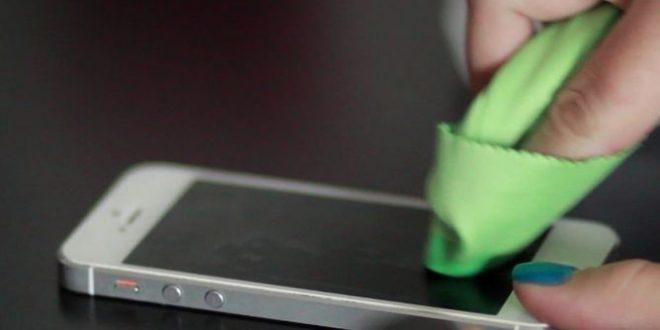 Dengan Membersihkan Fingerprint Sensor
