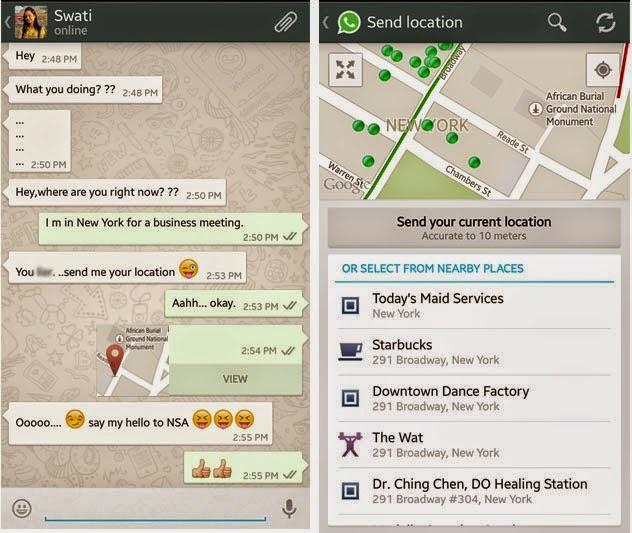 Cara Mudah Lacak Lokasi Orang Lain Lewat WhatsApp