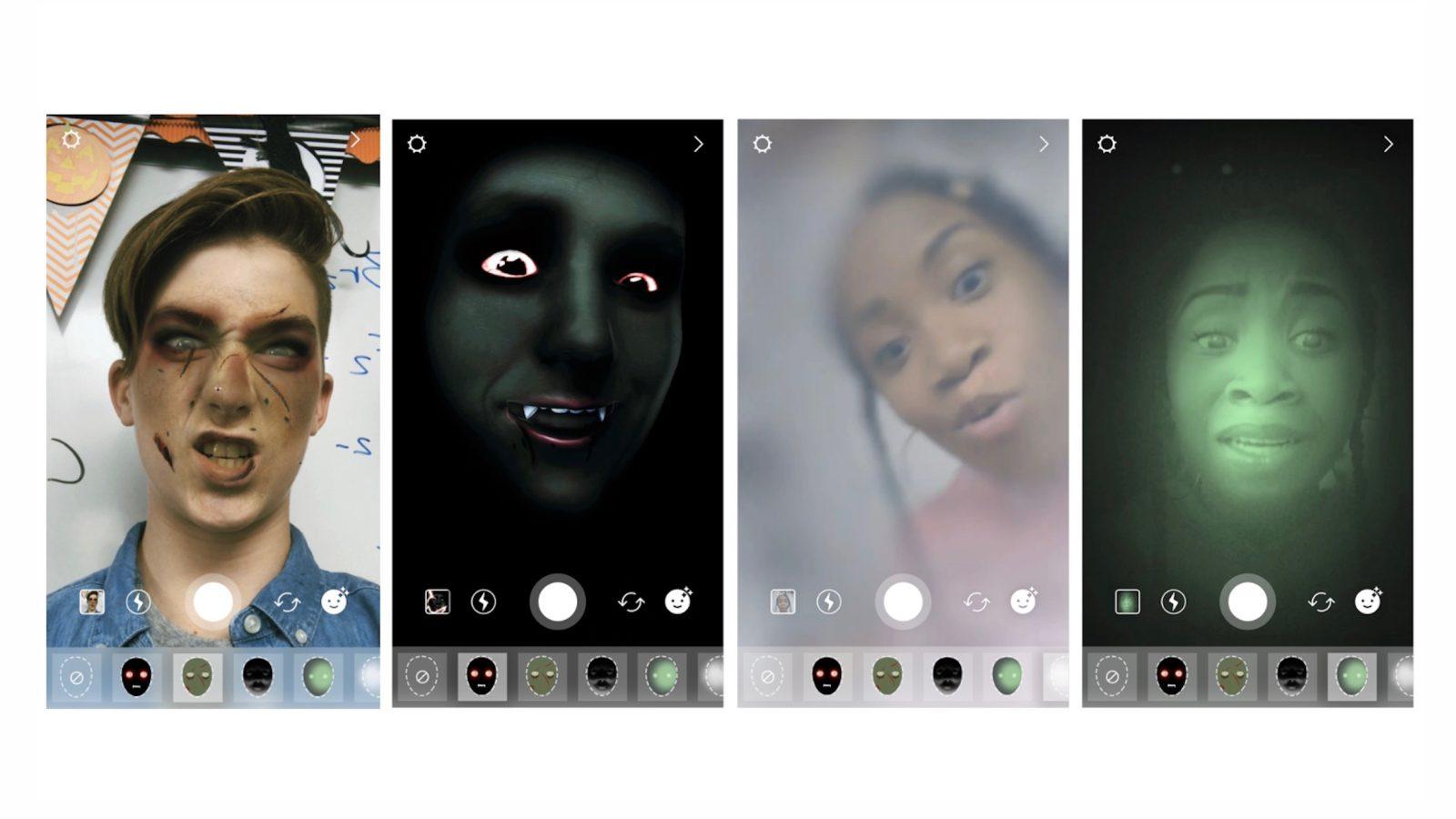 Fitur Terbaru Instagram Superzoom, Filter dan Stiker Halloween