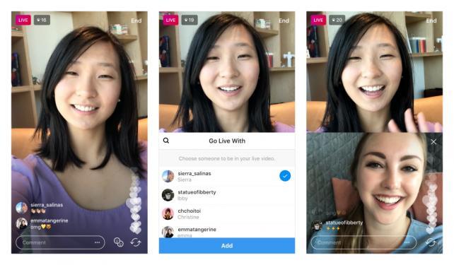 Kini Live Streaming Di Instagram Bisa Berkolaborasi