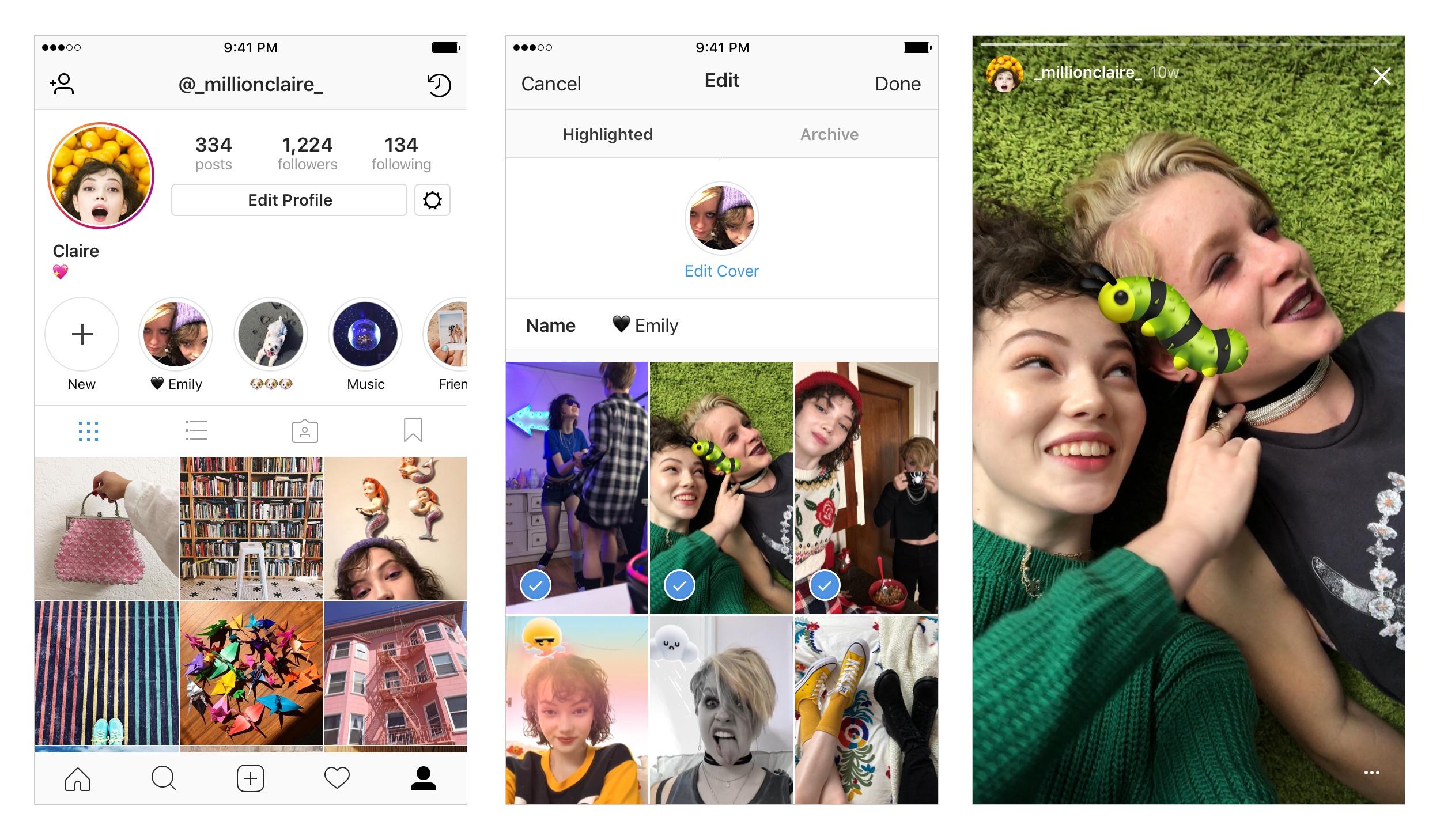 Kini Instagram Story yang Sudah Kadwaluarsa Bisa Diarsipkan dan Disoroti