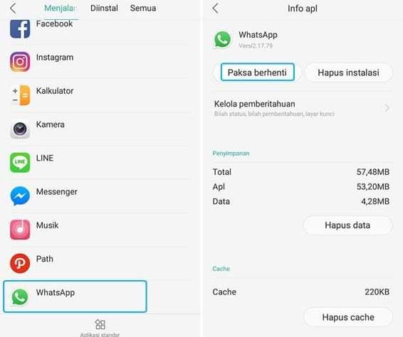 "Cara Mudah ""Log Out"" Whatsapp Tanpa Hapus Data dan Mematikan Internet"