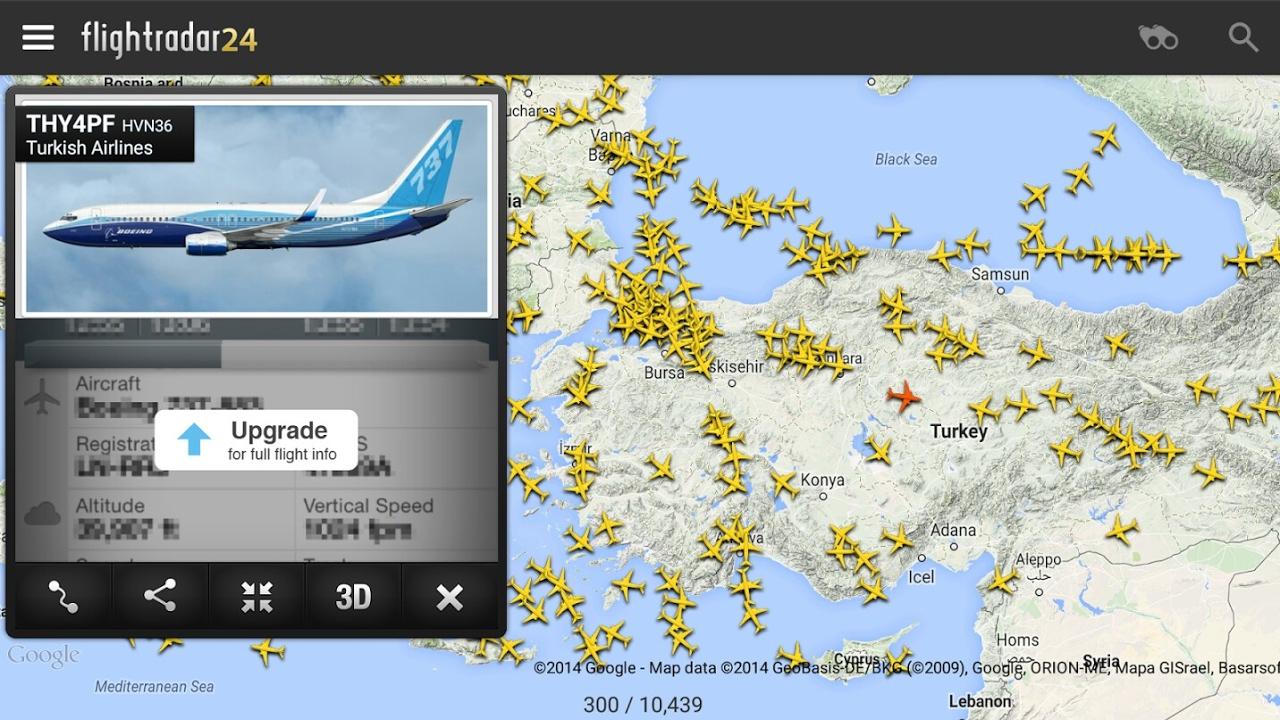 Cara Mudah Melacak Lokasi Pesawat Terbang dengan Android