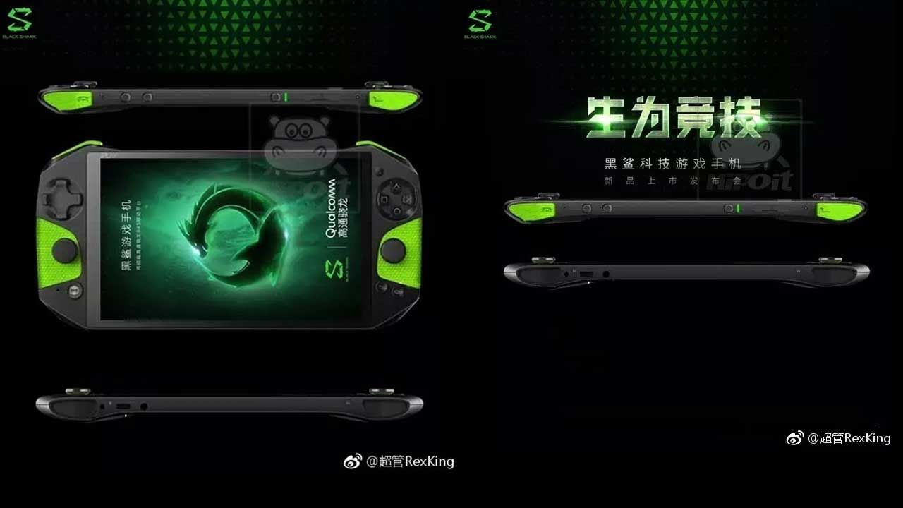 "Prototype Smartphone Gaming Xiaomi ""Black Shark"" Muncul di Internet"
