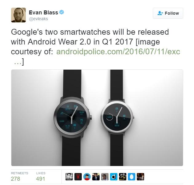 Google Mau Bikin Smartwatch Dengan Portofolio Pixel