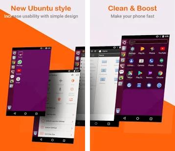 Cara Mudah Mengubah Tampilan Android Jadi Seperti Ubuntu Linux
